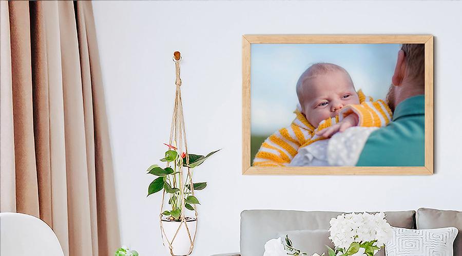 prints, porträttbild, väggprydnad, inredning, tavlor, inramningar, bebisporträtt, porträtt på väggen, inramat porträtt